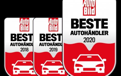 Zum dritten Jahr in Folge: wir gehören zu den 1000 besten Autohäusern Deutschlands 2020