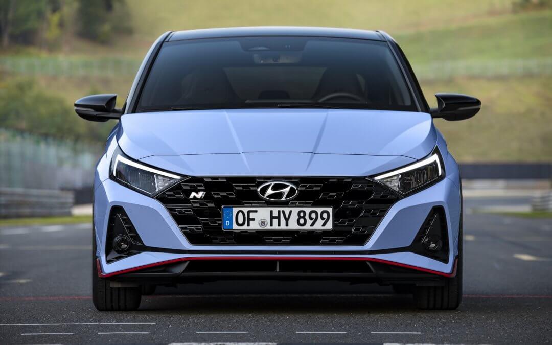 Hyundai enthüllt den neuen i20 N