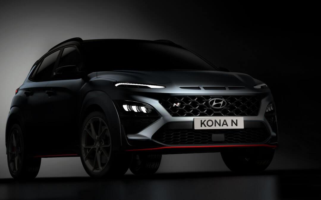 Hyundai gibt einen ersten Ausblick auf den neuen KONA N