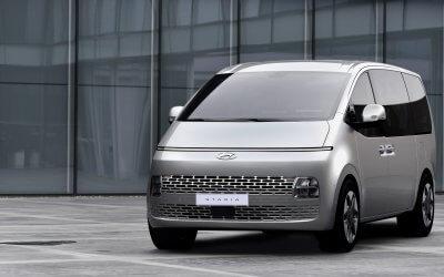Hyundai zeigt weitere Details der VAN-Baureihe STARIA