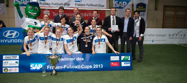 Autohaus Ranaldi auch 2014 wieder Sponsor beim SAP-Frauen-Fußball-Cup in Rauenberg